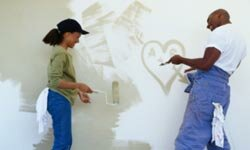 Changing a wall's paint color can be a easy and cheap improvement to your home.