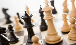 What most chess players would call strategy is really a complex use of memory to analyze the other player's behavior based on their previous moves.
