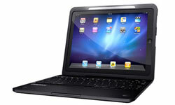 Keyboard cases, like this Crux360, bridge some of the gap between tablet and laptop, making it easier to use the iPad for e-mails, word processing and other tasks that can be difficult on the iPad's on-screen keyboard.