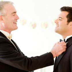 Your father makes a trustworthy best man. But he might not be the life of the bachelor party.