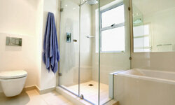 Make your shower a nice place to come to in the morning.