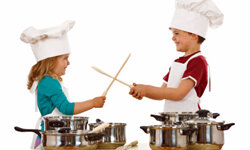 The kids can get involved with this one, too. Every chef needs a sous chef, after all.