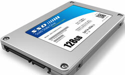 Solid state drives are pricier than other hard drive options, but they're also faster.