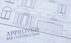 To avoid delays, have your permits approved before construction starts.
