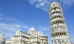 The Leaning Tower of Pisa -- perhaps the most famous construction mistake. See more famous landmark pictures.