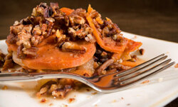 Healthy and delicious come together when you cook with sweet potatoes. See more pictures of vegetables.
