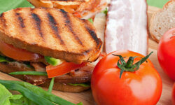 Dress up your BLT with avocado or some cheese for more flavor.