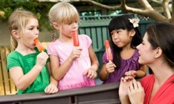 Don't be surprised if the daycare serves cherry popsicles and counts that as fruit.