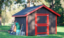 Structures like detached garden sheds are often forbidden through deed restrictions.