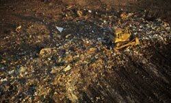Beware of buying land too close to a landfill. The smell might make you wish to move.