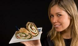 Why not make your turkey sandwich a turkey wrap?