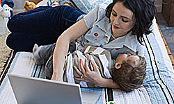 Image Gallery: Parenting Find yourself multitasking all the time? It could be a sign you're taking on too much. See more parenting pictures.