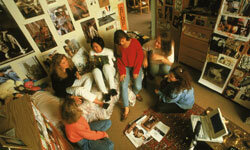 How do you fit all of these college students into one room while making them feel comfortable?