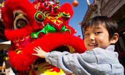 Not all dragon encounters are scary -- meeting one on the Chinese New Year, for example, could bring good fortune.