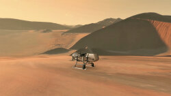 NASA's Dragonfly Rotorcraft to Explore Saturn's Giant Moon Titan