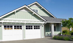 Dress up your garage doors -- they'll certainly dress up your house.