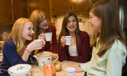 Teas can be a great, healthful drink option, as long as you don't add too much sugar.