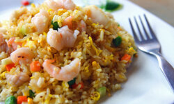 Fried rice can serve as a side dish or a meal all on its own.