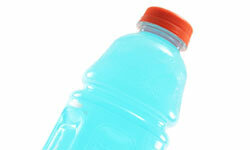 Gatorade, which is easy on the stomach and designed to replace electrolytes, can help with nausea.