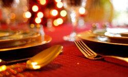 Make sure your tablescape reinforces the elegant theme.