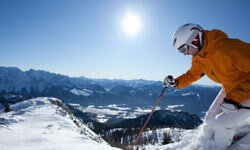 You'll need SPF when skiing or doing other outdoor winter activities.