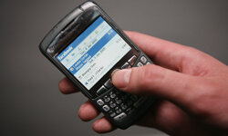 The BlackBerry was one of the first smartphones.