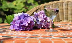 Mosaics make perfect tabletops!