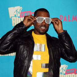 Kanye may not have been the first to wear shutter shades, but he found a way to make them his own.