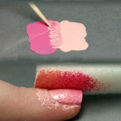 Ombré -- also known as gradient -- is one of the hottest trends in nails right now and it's when two colors gradually fade into one.