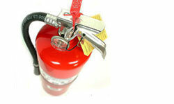 While there's a good chance your fire extinguisher will sit on the wall for years, collecting dust, it could end up saving your property and even your life.