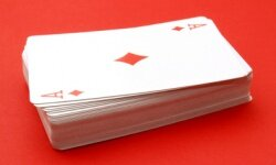 A serving of meat, fish or poultry is equal to a deck of playing cards.