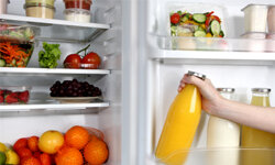 Pay attention to your refrigerator's temperature settings to keep food fresh. See more pictures of leftovers.