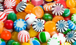 Coloring agents may make eating candy more fun, but they can end up on your teeth for good.