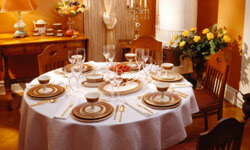 A formal dining room may look lovely, but in most homes, that's wasted space.