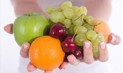 Aim to consume five servings of fruits and vegetables each day.