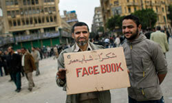 In what's been called the Arab Spring, anti-government protesters in Cairo, Egypt, used social media and networking to help organize protesters in Tahrir Square in 2011.