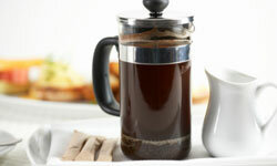 A French press is another lost-cow alternative if you'd like to make your own coffee.