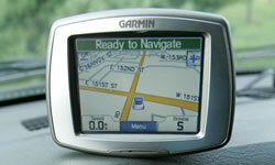 A GPS receiver can tell you where you are and where you're going.