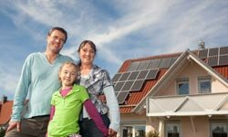 Solar panels are one green technology that can save money on your home energy bills. See more green science pictures.