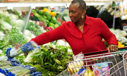 Stick to the perimeter of the grocery store for healthier food.