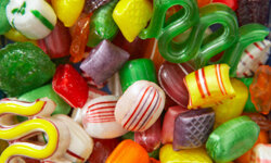 The sugar can do as much damage as the candy itself.