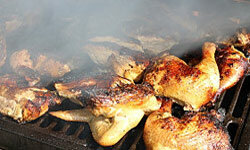 Grilled chicken makes a great choice for a warm day.