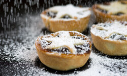 Mince pies are a favorite of Father Christmas in England. See more pictures of international holiday foods.