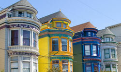 If you've spent years perfecting your historic San Francisco townhome, you may not be quite ready to abandon it for smaller digs.
