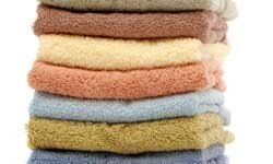A washcloth soaked in cool water can be placed on sunburned skin to relieve discomfort.