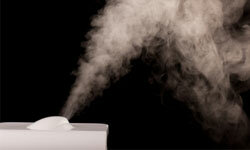 Ease your nostrils with a humidifier.