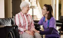 Four out of five people who receive in-home care receive it from an unpaid friend or relative who's volunteering their help. See more healthy aging pictures.