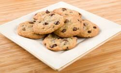 A chocolate chip cookie can act as a sedative.