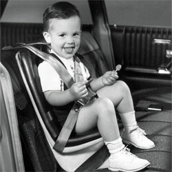 A car seat from the 1960s shows how far these essential safety devices have evolved.