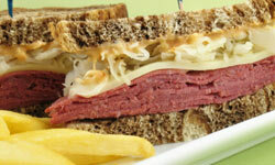 A Reuben calls out for a big splash of Thousand Island.